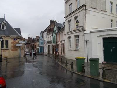AMIENS,  FRANCE.---Rainy day.