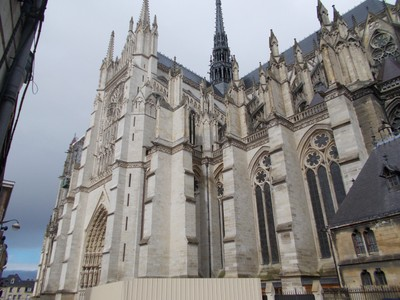AMIENS,  FRANCE.  Cathedral.