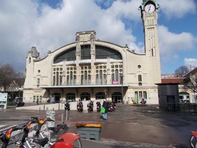 ROUEN  FRANCE,  Rail  station.