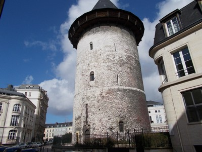ROUEN,  FRANCE.   Round Tower of Joan of Arc.