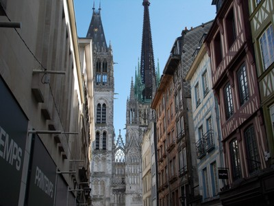 ROUEN,  FRANCE..   Cathedral.