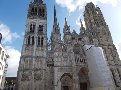ROUEN,  FRANCE .  Cathedral