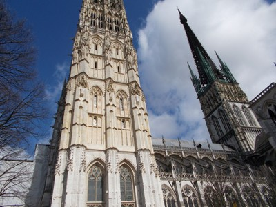 ROUEN,  FRANCE.  Cathedral