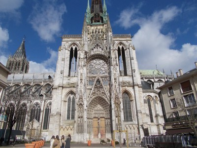 ROUEN,  FRANCE.  Cathedral of Our Lady of the Assumption     RC.