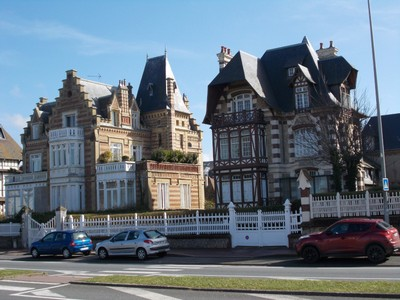 "DEAUVILLE,  FRANCE.  ""Posh "" Houses."
