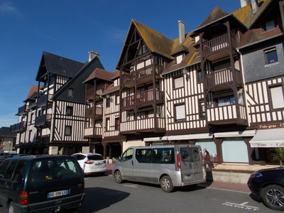 DEAUVILLE,  FRANCE.  Town.