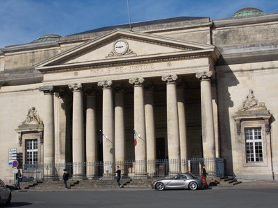 CAEN FRANCE. Palace of Justice.