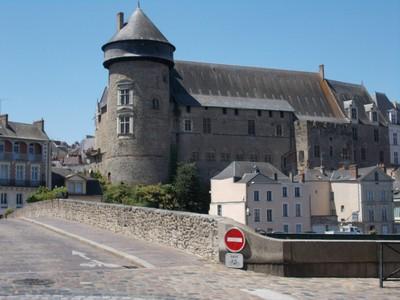 LAVAL,  FRANCE.   Castle.