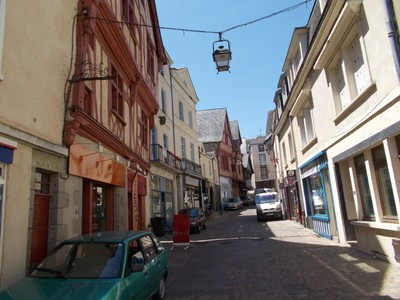 LAVAL,  FRANCE.--  In Western  France.