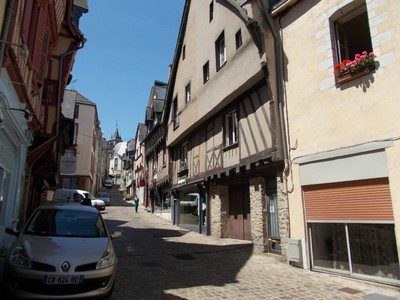 LAVAL,  FRANCE.  -----Halfway  between Rennes and  Le Mans.