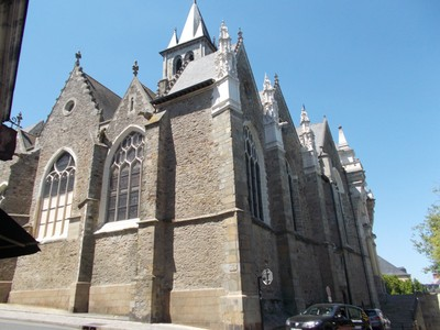 LAVAL,  FRANCE,--  Cathedral of Trinity.  RC.