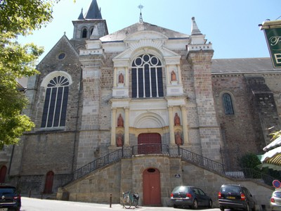 LAVAL,  FRANCE. --Cathedral  dates from 11th  century.