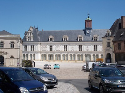 LAVAL,  FRANCE.   Place De Tremoille.