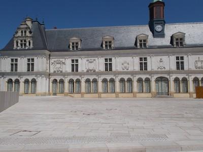 LAVAL,  FRANCE --Place De Tremoille.