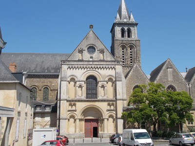 LAVAL,, FRANCE.-- Cathedral.of  Trinity.