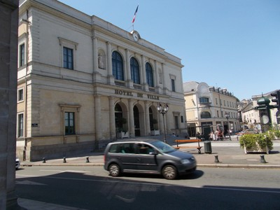 LAVAL,  FRANCE,   Town  Hall.--Constructed 1831.