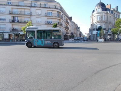 LAVAL,  FRANCE.   Electric  Bus.