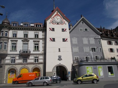 CHUR, OBERTOR,the Upper town gate.,in medieval times one of the few places to enter town.  No night entry,gates locked.