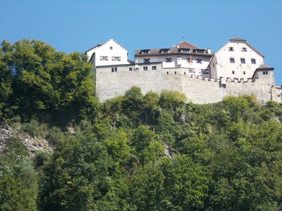 LIECHTENSTEIN  VADUZ.  Castle, residence of the Prince.