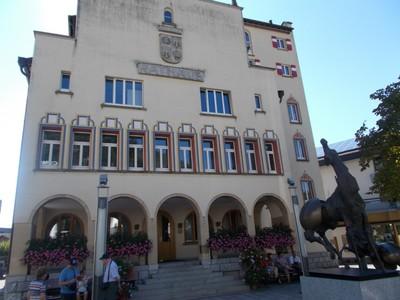 LIECHTENSTEIN VADUZ.  Town Hall.
