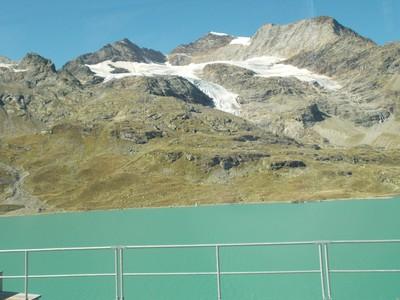 SWITZERLAND  ALP.--- LAKE LOVELY GREEN.
