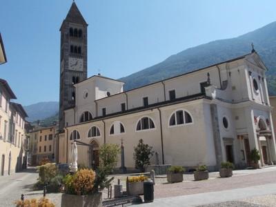 TIRANO ITALY.  St. Martins church.