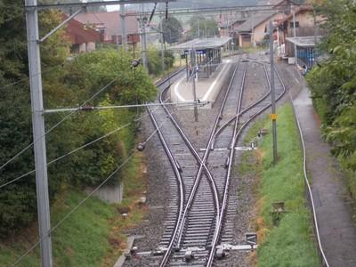 NIEDERSCHERLI,  Train station.