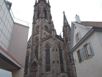 FRANCE   MULHOUSE.  Cathedral.