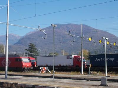 DOMODOSSOLA.ITALY.  Rail station.