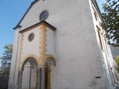 VISP,  SWITZERLAND.  Burgerkirche.