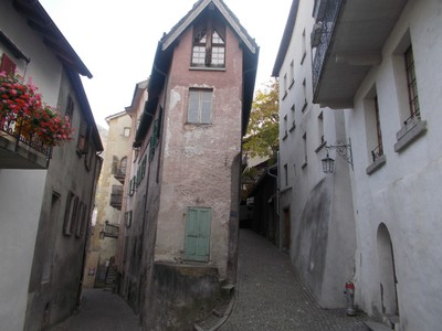 VISP  SWITZERLAND   Well preserved old town.