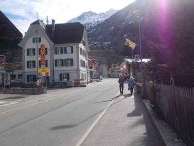 ANDERMATT  SWITZERLAND,  in the Urseren  Valley.