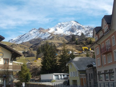 ANDERMATT  SWITZERLAND.  There are two  ski areas in  winter.