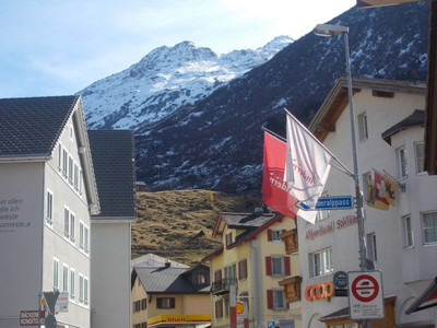 ANDERMATT  SWITZERLAND.