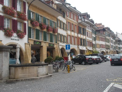MURTEN  SWITZERLAND.    Main  street.