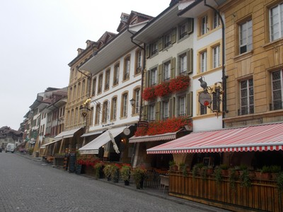 MURTEN  SWITZERLAND.    Grand Rue.