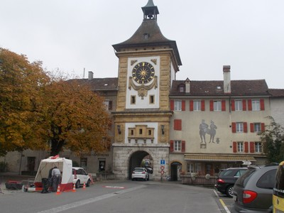 MURTEN  SWITZERLAND.   Berntor  [ Bern gate