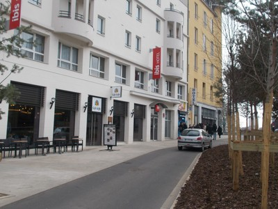 NANCY  FRANCE.  I stayed overnight, at this Ibis  Hotel in Nancy.