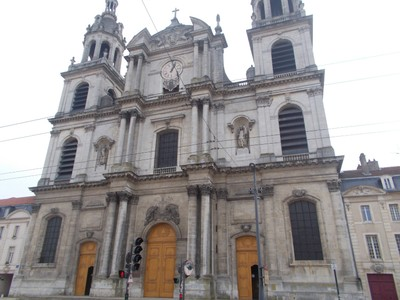 NANCY  FRANCE.--  Cathedral of Notre-Dame. -- Baroque Style.--  Seat of a Bishop.  R.C.