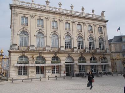 NANCY  FRANCE...Place  Stanislas,  Grand  Hotel.