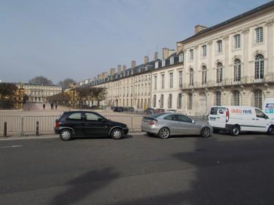 NANCY  FRANCE.  Place la Carriere.   290m long and 50m wide.