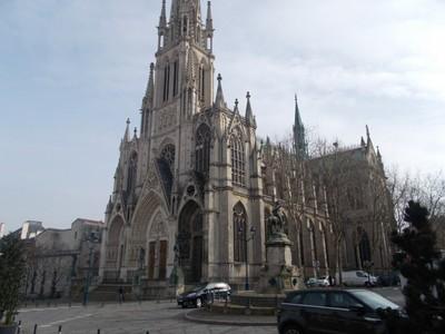 NANCY  FRANCE.  St. Epvre of Nancy Basilica. from 1874.