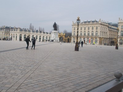 NANCY  FRANCE.   --Place Stanislas,  huge elegant square.