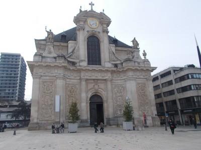 NANCY  FRANCE.  --  St. Sebastian Church.--- St. Sebastian was a Christian saint and martyr.
