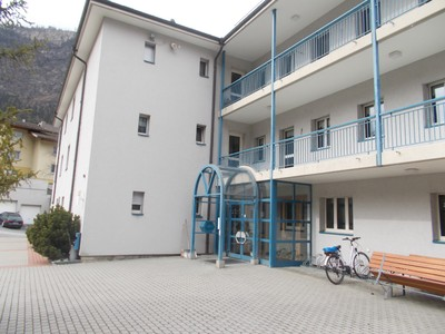 VISP  SWITZERLAND   Hotel St.Jodern run by nuns.  Place comfortable and spotlessly  clean.  Short walk from  station.