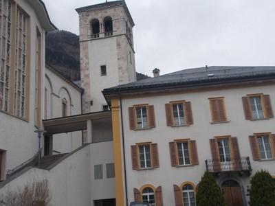 VISP   SWITZERLAND.  St. Martins Church.