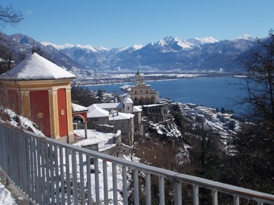 SWITZERLAND ,LOCARNO. View from Orselina.