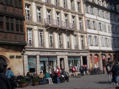 STRASBOURG,   FRANCE.  Tourist  Office. Place de la Cathedrale.