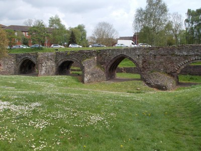 EXETER DEVON.  Old Exe bridge.