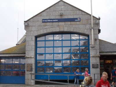 ST.IVES CORNWALL.  Lifeboat station house.